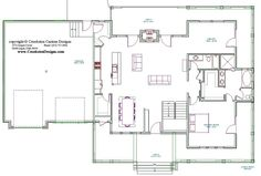 elements of the main floor layout