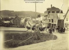 Fort Kent Maine | Funeral procession, Fort Kent, 1912