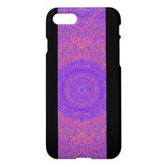 Extropix Pattern Exotic Purple Creation Pattern iPhone 8/7 Case - pattern sample design template diy cyo customize