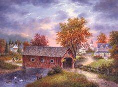 """Autumn Daze"" by Dennis Lewan"