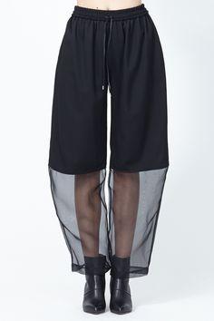 Nomia Baggy Organza Combo Pants (
