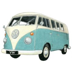 love this, want the van, want the drawing!