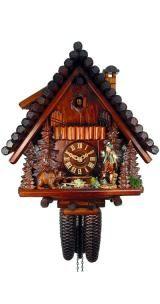 Relógio de Cuco <br> Black Forest House, Hunter, Urso