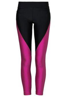 ALL SPORTS - Collants - black pink