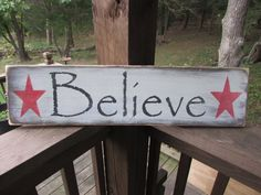 """This Primitive rustic Christmas sign, will look great for your country Christmas decor, sign is made of wood, and is hand painted and distressed to give an aged look. Sign measures 24"""" X 7 """" and comes"""