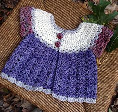 Easy, fast and free crochet pattern. Patty Cake Cardi a free baby sweater by Michele DuNaier. Mine was made with worsted weight yarn. Notes on modifications on my project page.