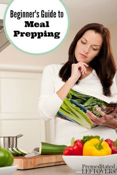 Meal prepping saves you time and money on cooking meals each week. To get started, check out the tips and tricks in this Beginner's Guide to Meal Prepping. Includes idea for using crockpot to save time on recipe meal prep for your family.