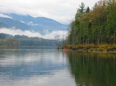 Revelstoke Lake Reservoir is an artificial lake on the Columbia River, north of the town of Revelstoke, British Columbia and south of Mica Creek #Revelstoke
