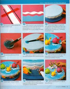 STEP BY STEP FISH IN THE SEA PART N°3