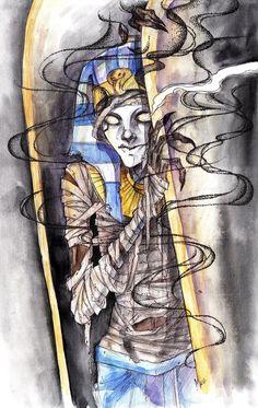 Tutenstein by ArikaTwins on DeviantArt Cartoon Crossovers, Kids Shows, Animation Series, Ancient Egypt, Cartoons, Childhood, Fan Art, Deviantart, Drawings