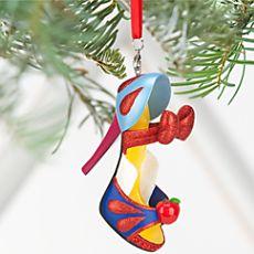 Snow White Shoe Ornament