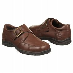 KENNETH COLE REACTION On Check Pre/Grd Shoes (Dark Brown) - Kids' Shoes - 13.0 M