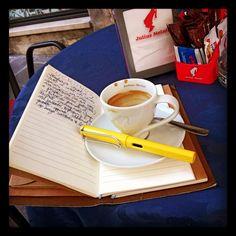 #visual #lomo #writing #journal #lamysafari #tigerstores #coffee