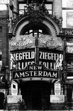 Del bullicio publicitario neoyorquino de 1903.