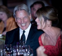 Mark Harmon and Pam Dawber - I think I am enamored of Mark Harmon most because of his love of and committment to his wife!
