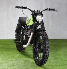 Ad Hoc SR250. Not a great color but a perfect style for an 2014 SR400 scrambler.