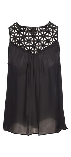 Ramy Brook Delphine Top in Black / Manage Products / Catalog / Magento Admin