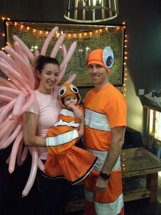 Finding Nemo Anemone Family Costume