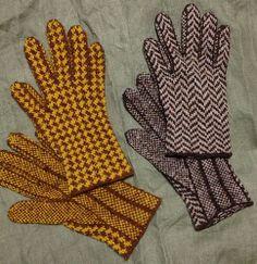 Ravelry: kakucyoko's Herringbone Gloves ヘリンボーンの手袋