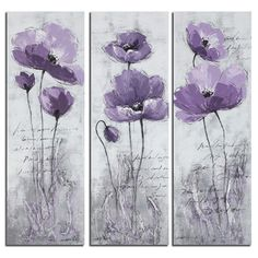 Charlton Home 3 Piece Painting Print on Canvas