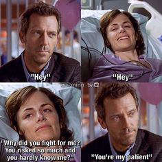 Control: Season 1 Episode 14: originally broadcast on Fox on March 15, 2015 | Dr. Gregory House (Hugh Laurie) with his patient Carly Forlano (Sarah Clarke)