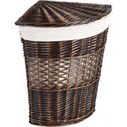 The #Better Homes and Gardens Wicker Lidded Wedge Hamper is a durable and delightful storage solution. Stylish and functional, this hamper would be an ideal addi...