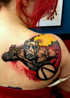 Borderlands tattoo. This is awesome