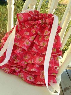 Ruffled Backpack