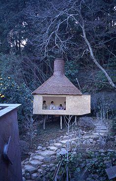 ichiya-tei (one-night teahouse), 2003 • architectural design by terunobu fujimori + nobumichi ohshima (ohshima atelier)