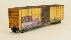 Faded/worn numbering experiment | Model Railroad Hobbyist magazine | Having fun with model trains | Instant access to model railway resources without barriers
