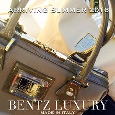 Join our email list at www.BentzLuxury.com for early access to our Premiere Collection! Arriving Summer 2016.