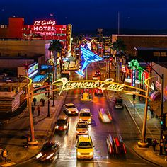 Two miles north of the Strip, Fremont Street East in Las Vegas captures the city's passion for local artisanship with new galleries, restaurants, and bars. #travel #vegas #honeymoon