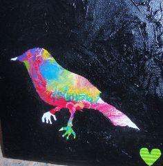 bird stencil