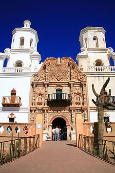 San Xavier Mission church, Tucson