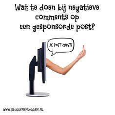 Wat te doen bij negatieve comments op een gesponsorde post