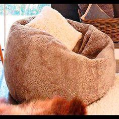 (9) Name: 'Sewing : Fur bean bag chair