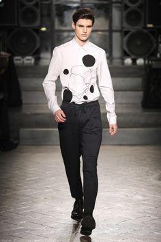 Antonio Marras FW2014   Milan Fashion Week   Model: Ben Lark