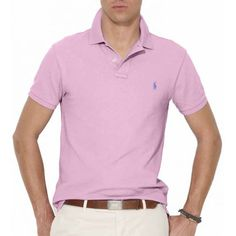 Polo Ralph Lauren Slim Fit / Rose