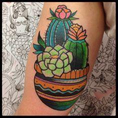 cactus heart tattoo - Google Search