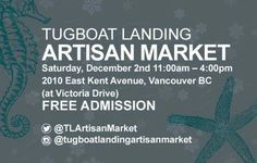 X M A S  M A R K E T  Looking forward to @tugboatlandingartisanmarket on Dec 2nd a wonderful community focused Christmas Market at Victoria & Kent        #christmasmarket #riverdistrict #richmondbc #burnaby #artisanmarket #shoplocal #giftideas #greenbeauty #madeinvancouver #community #victoriadrive #vancitybuzz #vancouverevents #vancouverisawesome #xmas #christmasshopping #giftsforher #giftsforhim #ladnerbc #vancouver #yvr #604 #naturalskincare #art #jewelry #christmaswreath #eastvan…