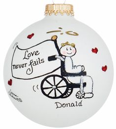 Hand-Painted Glass Ball Ornaments Are Heartfelt Keepsakes
