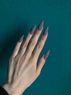 Acrylic Nails Coffin Short, Simple Acrylic Nails, Almond Acrylic Nails, Best Acrylic Nails, May Nails, Hair And Nails, Stylish Nails, Trendy Nails, Romantic Nails