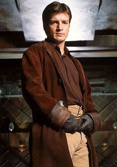 Captain Reynolds!  Loved Nathan Fillion on 2 Guys, a Girl and a Pizza Place.  Loved loved loved him on Firefly and now Castle.  He's having a good tv career.  (And I like him in Waitress)