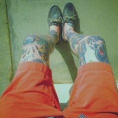 Leg Tatts!