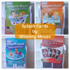 Splash Cards by Winning Moves! Review and Giveaway - The Stuff of Success Exp 4/26