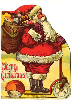 MERRY CHRISTMAS - (SHAPE BOOK)  Newark: Charles Graham ca 1915.