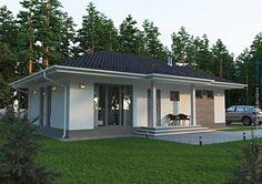 Casa de família de 70 m² que atende todas as necessidades (De Marina Mantovanini - Homify)