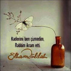 HADİD Bismillahirrahmanirrahim Sebbeha lillahi ma fiyssemavati velardı ve huvel'aziyzulhakiymu. Lehu mulkussemavati vel'ardı yuhyiy ve yumiytu ve huve Positive Images, Stand By You, French Quotes, Allah Islam, Think, Sufi, Positive Affirmations, I Am Awesome, Wisdom