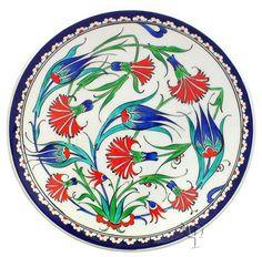 Iznik Ceramic Plates | Iznik Pottery | Ceramic Decorative Plates ...