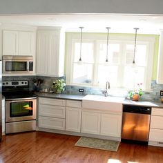 Kitchen Cabinets Design Ideas 22 stylish long narrow kitchen ideas | window, kitchens and long